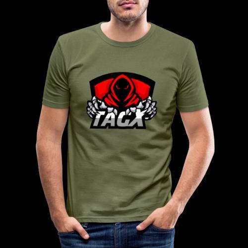 TagX Logo - Miesten tyköistuva t-paita
