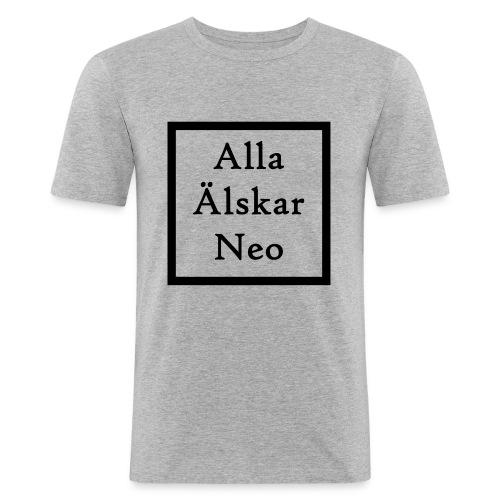 Alla Älskar Neo - Slim Fit T-shirt herr