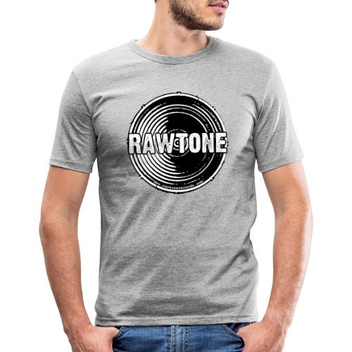 Rawtone Records logo - Men's Slim Fit T-Shirt