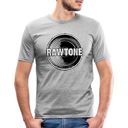Rawtone Records logo - Men's Slim Fit T-Shirt