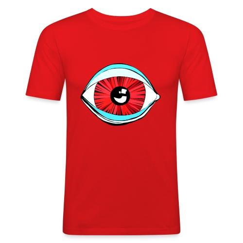 Augen...blick mal - Männer Slim Fit T-Shirt