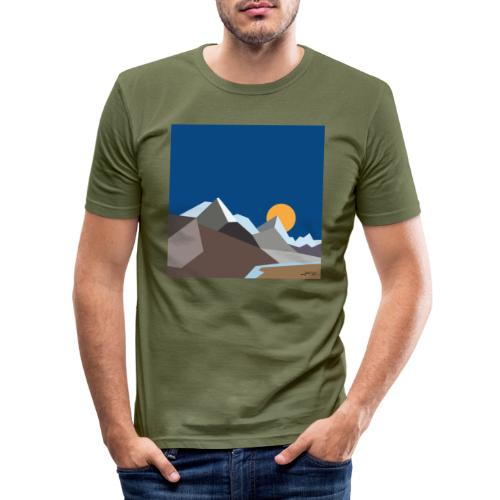 Himalayas - Men's Slim Fit T-Shirt