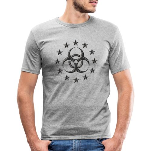 Biohazard, Pandemic. The apocalypse are now! - Men's Slim Fit T-Shirt