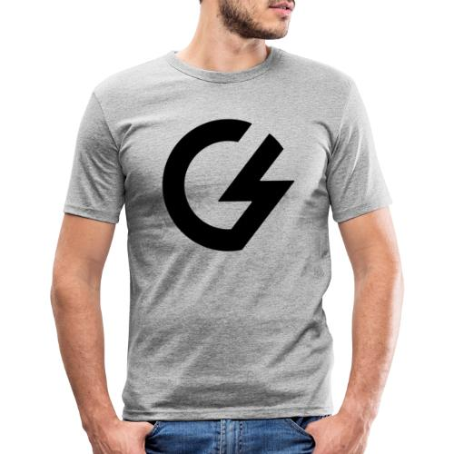Giacomini Lab - Logo - Maglietta aderente da uomo