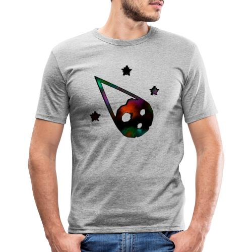 logo interestelar - Camiseta ajustada hombre
