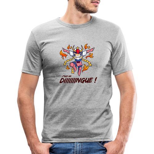 Ikki - J'suis un dingue - T-shirt près du corps Homme