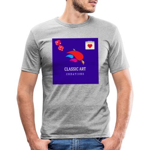 6B922284 9DFD 4417 87EA A64B8AD9B6BE - Camiseta ajustada hombre