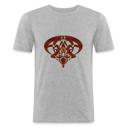 Art Nouveau Art Deco Art Nouveau Vintage Art Gold - Men's Slim Fit T-Shirt
