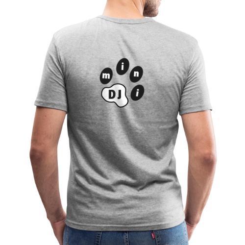DJMini Logo - Herre Slim Fit T-Shirt