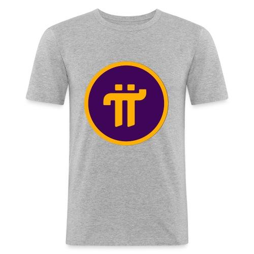 Pi Network Wear - T-shirt près du corps Homme