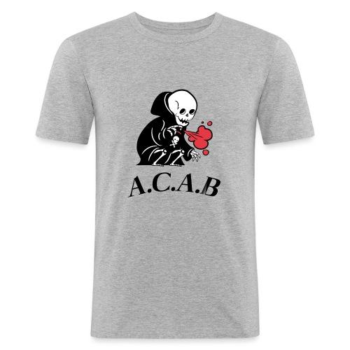 la mort - T-shirt près du corps Homme