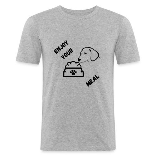 Enjoy your meal - T-shirt près du corps Homme