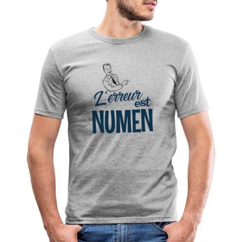 L erreur est Numen - T-shirt près du corps Homme