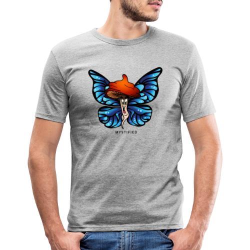 Mystified Butterfly - Mannen slim fit T-shirt