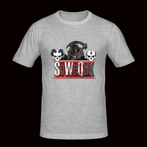 SoWeQDK Banner - Herre Slim Fit T-Shirt