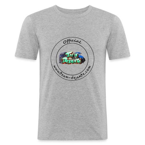 Officiel TD Logo - T-shirt près du corps Homme