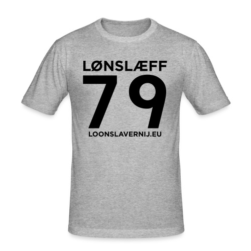 100014365_129748846_loons - Mannen slim fit T-shirt
