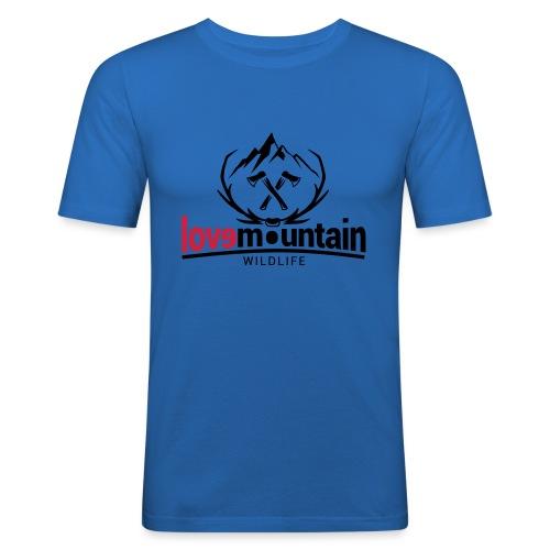Mountain - Maglietta aderente da uomo