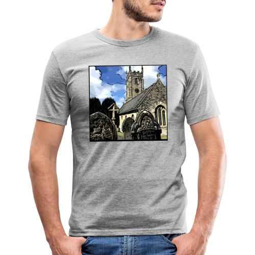 Church - Men's Slim Fit T-Shirt