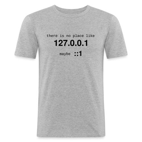 127-0-0-1-::1 - T-shirt près du corps Homme