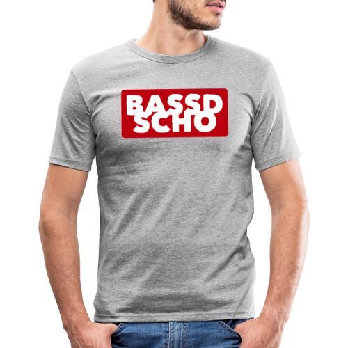 BASSD SCHO - Männer Slim Fit T-Shirt