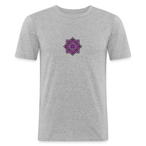 geometronology - Men's Slim Fit T-Shirt