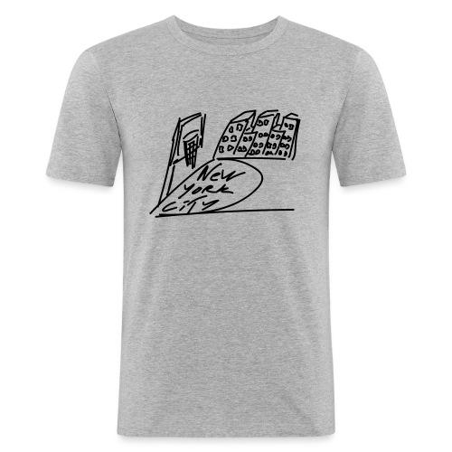 New_York - T-shirt près du corps Homme
