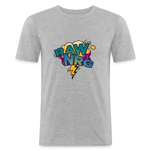 Raw Nrg Comic 1 - Men's Slim Fit T-Shirt