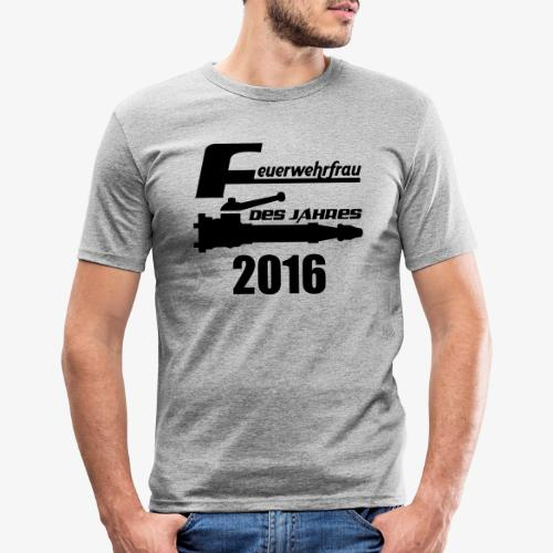 Feuerwehrfrau des Jahres - Männer Slim Fit T-Shirt