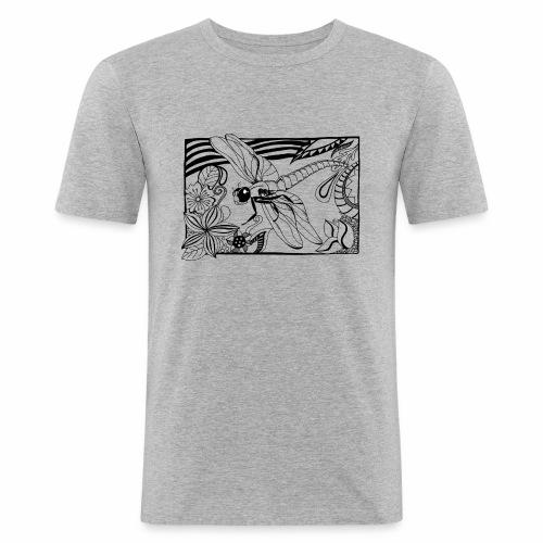Dragonfly - Obcisła koszulka męska