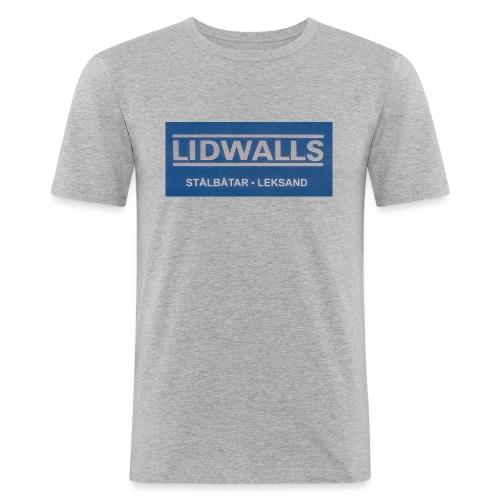 Lidwalls Stålbåtar - Slim Fit T-shirt herr