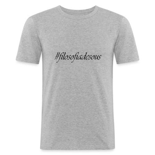 filosofiadesous1 - Camiseta ajustada hombre