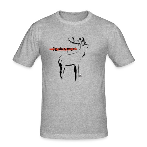 Je suis prest - Camiseta ajustada hombre