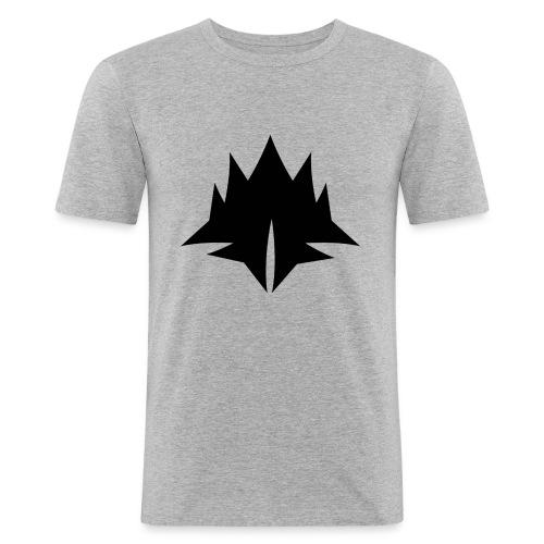 deserm logo - Mannen slim fit T-shirt