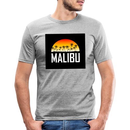 Malibu Nights - Men's Slim Fit T-Shirt