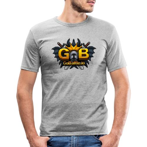 GoBattle.io - Men's Slim Fit T-Shirt