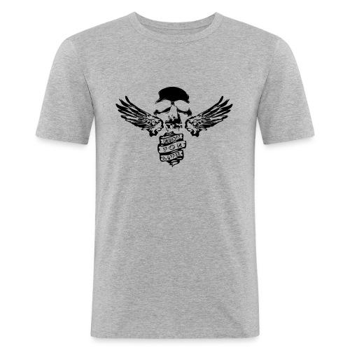 Ride for Live - Männer Slim Fit T-Shirt