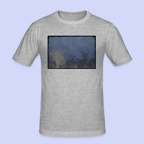 Spring mornings - Female shirt - Herre Slim Fit T-Shirt