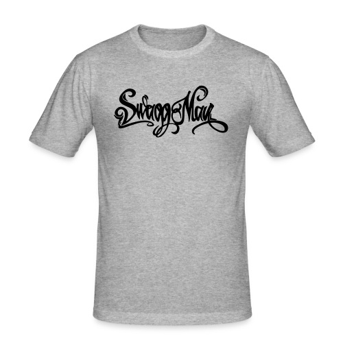 Swagg Man logo - T-shirt près du corps Homme
