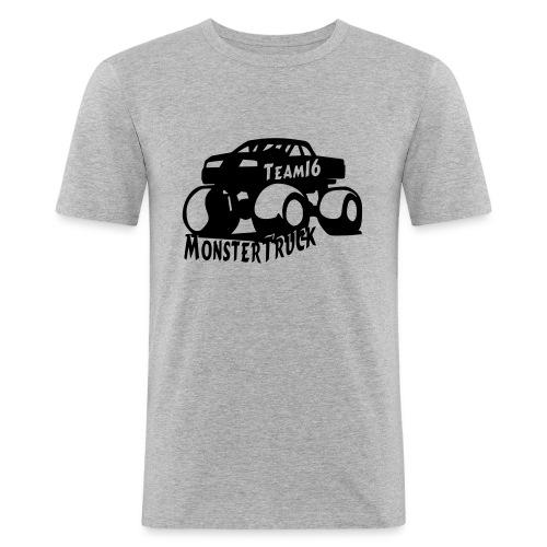 logo mtteam16 noir - T-shirt près du corps Homme