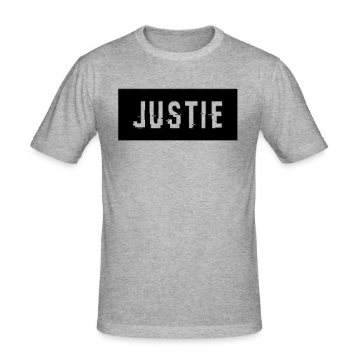 Justie shirt - Mannen slim fit T-shirt