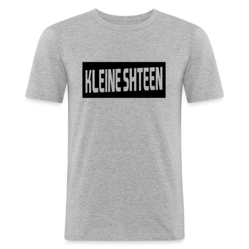 kleine shteen - Mannen slim fit T-shirt