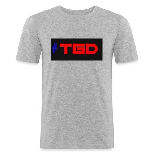 TGD LOGO - Men's Slim Fit T-Shirt