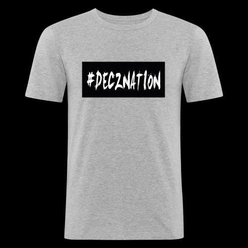 DECZNATION - Men's Slim Fit T-Shirt