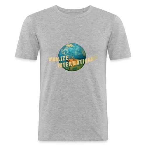 Visualize Internationally Shirt - Men's Slim Fit T-Shirt