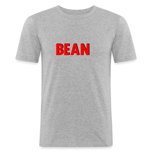 Beanlogo1 - Men's Slim Fit T-Shirt