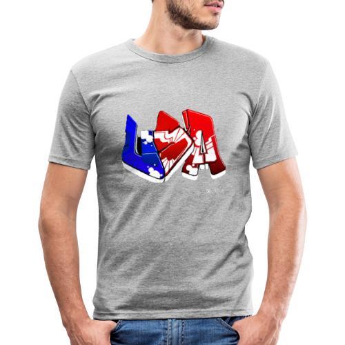 USA - T-shirt près du corps Homme