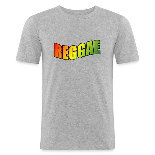 Reggae - Men's Slim Fit T-Shirt