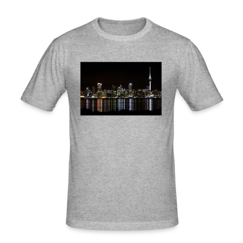 auckland-new-zealand - Slim Fit T-shirt herr