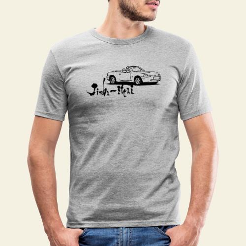 mx5 nb - Herre Slim Fit T-Shirt